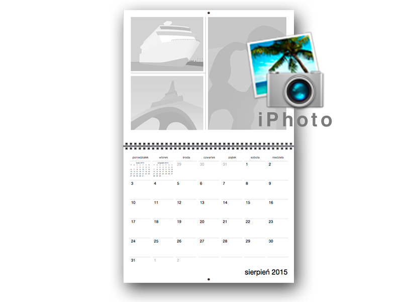 Foto-kalendarz iPhoto